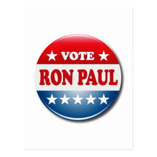 VOTE RON PAUL POST CARDS
