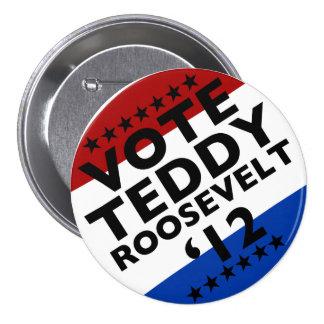 Vote Roosevelt '12 Button