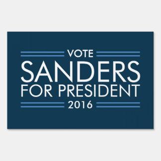 Vote Sanders for President 2016 Sign