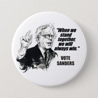 Vote Sanders Pinback Button