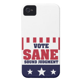 Vote Sane Sound Judgment iPhone 4 Cover
