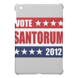 VOTE SANTORUM 2012 SIGN iPad MINI CASE