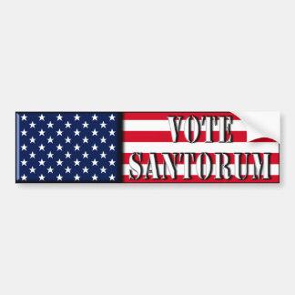 Vote Santorum - Rick Santorum bumper sticker
