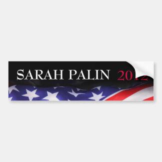 Vote SARAH PALIN 2012 Bumper Sticker Car Bumper Sticker