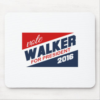 Vote Scott Walker for President 2016 Campaign Sign Mouse Pads