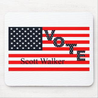Vote Scott Walker for President 2016 Mouse Pad