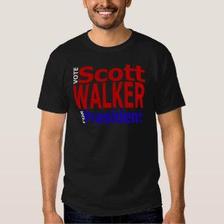 Vote Scott Walker For President T Shirt