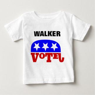 Vote Scott Walker Republican Elephant Baby T-Shirt