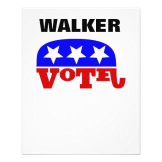Vote Scott Walker Republican Elephant Flyer