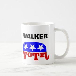 Vote Scott Walker Republican Elephant Classic White Coffee Mug