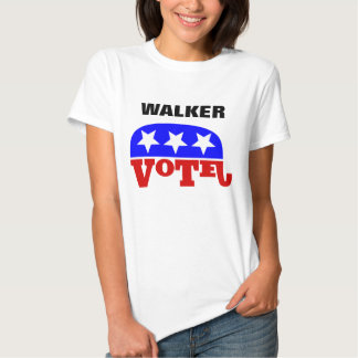 Vote Scott Walker Republican Elephant T Shirt