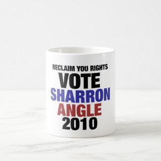 Vote Sharon Angle for US Senate 2010 Coffee Mug