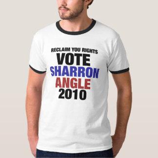 Vote Sharon Angle for US Senate 2010 T-Shirt