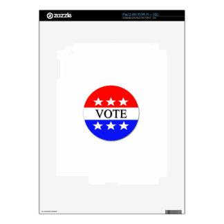 Vote Decals For iPad 2