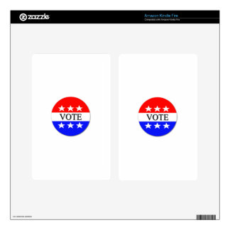 Vote Decal For Kindle Fire