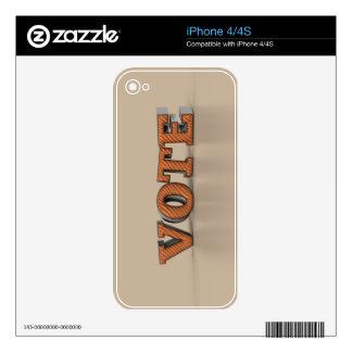 Vote iPhone 4S Skins