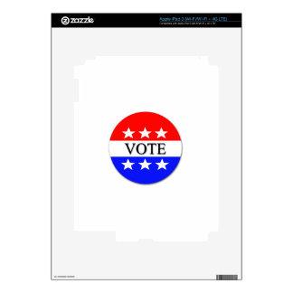 Vote Skin For iPad 3