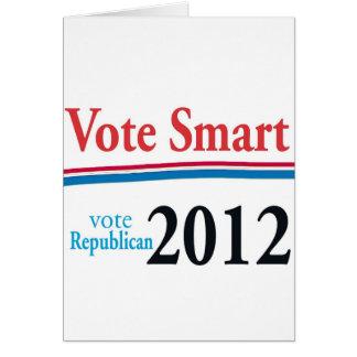 vote smart greeting card