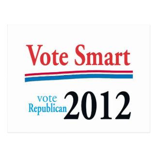 vote smart postcard