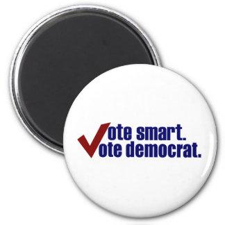 Vote Smart Vote Democrat Magnet
