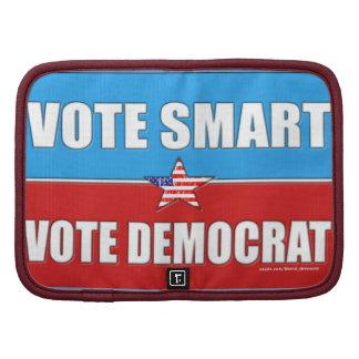 VOTE SMART VOTE DEMOCRAT FOLIO PLANNER