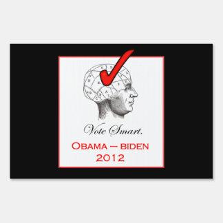 Vote Smart - Vote Obama Lawn Signs
