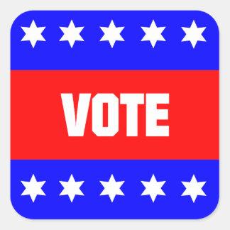 Vote Square Sticker