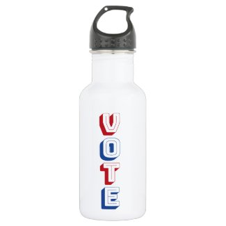 Vote! Stainless Steel Water Bottle