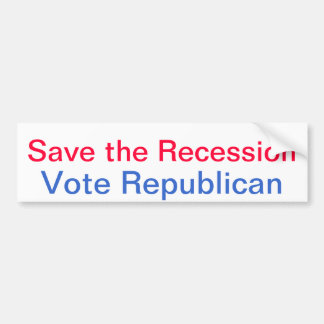 vote stupid bumper sticker