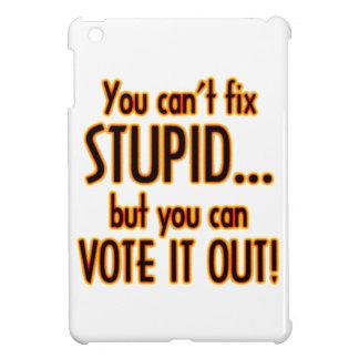 Vote Stupid Out - Fire iPad Mini Case