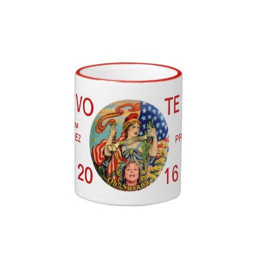 Vote Susanna Martinez President in 2016 Coffee Mug