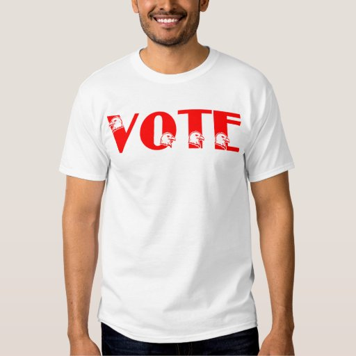 Vote T-shirt with Eagle Heads T-Shirt