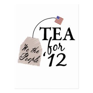 Vote Tea Party 2012 Postcard