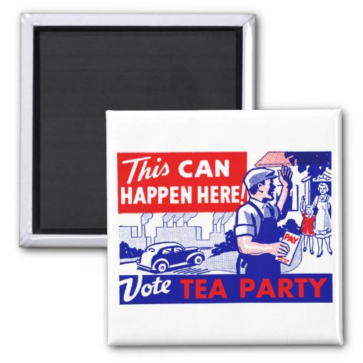 Vote Tea Party Fridge Magnets