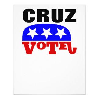 Vote Ted Cruz Republican Elephant Flyer