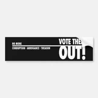 Vote Them Out - Bumper Sticker