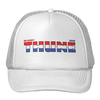 Vote Thune 2010 Elections Red White and Blue Hat