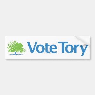 Vote Tory Bumper Sticker