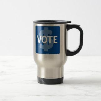 $ VOTE TRAVEL MUG
