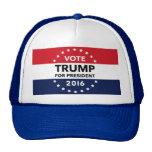 Vote Trump for President 2016 Navy Blue Hat