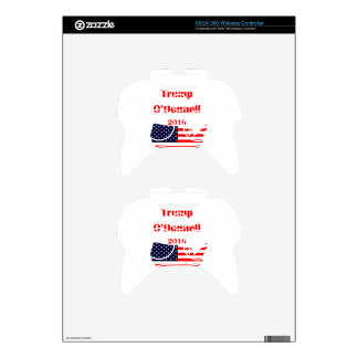 Vote Trump O'Donnell in 2016! Xbox 360 Controller Decal