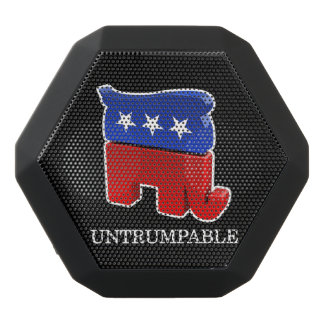 Vote Trump - Untrumpable Black Bluetooth Speaker