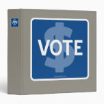 $ VOTE VINYL BINDER