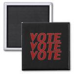 vote vote vote - black / red Magnet