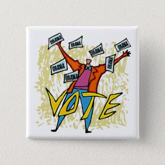 VOTE VOTE VOTE PINBACK BUTTON