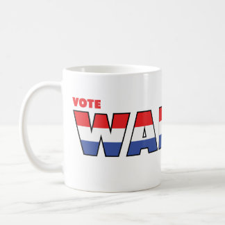 Vote Walker 2010 Elections Red White and Blue Coffee Mug