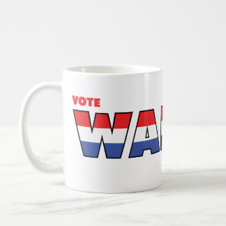 Vote Walter 2010 Elections Red White and Blue Coffee Mugs