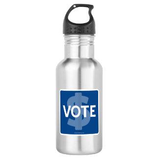 $ VOTE WATER BOTTLE