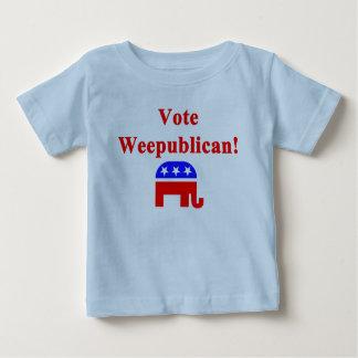 Vote Weepublican Baby T-Shirt