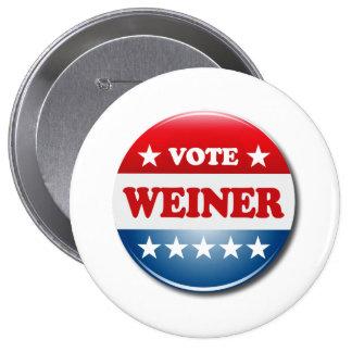 VOTE WEINER BUTTONS